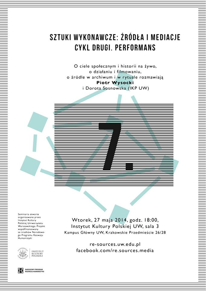 CYKL 2. Performans – Wysocki/Sosnowska