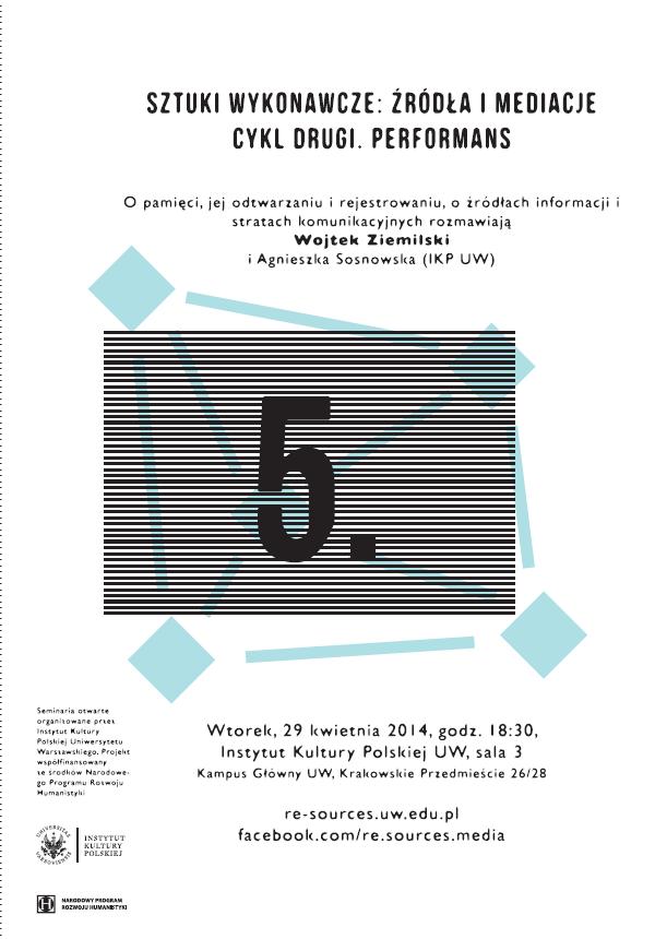CYKL 2. Performans – Ziemilski/Sosnowska